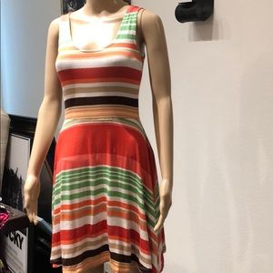 Multicolor striped dress American Rag Small